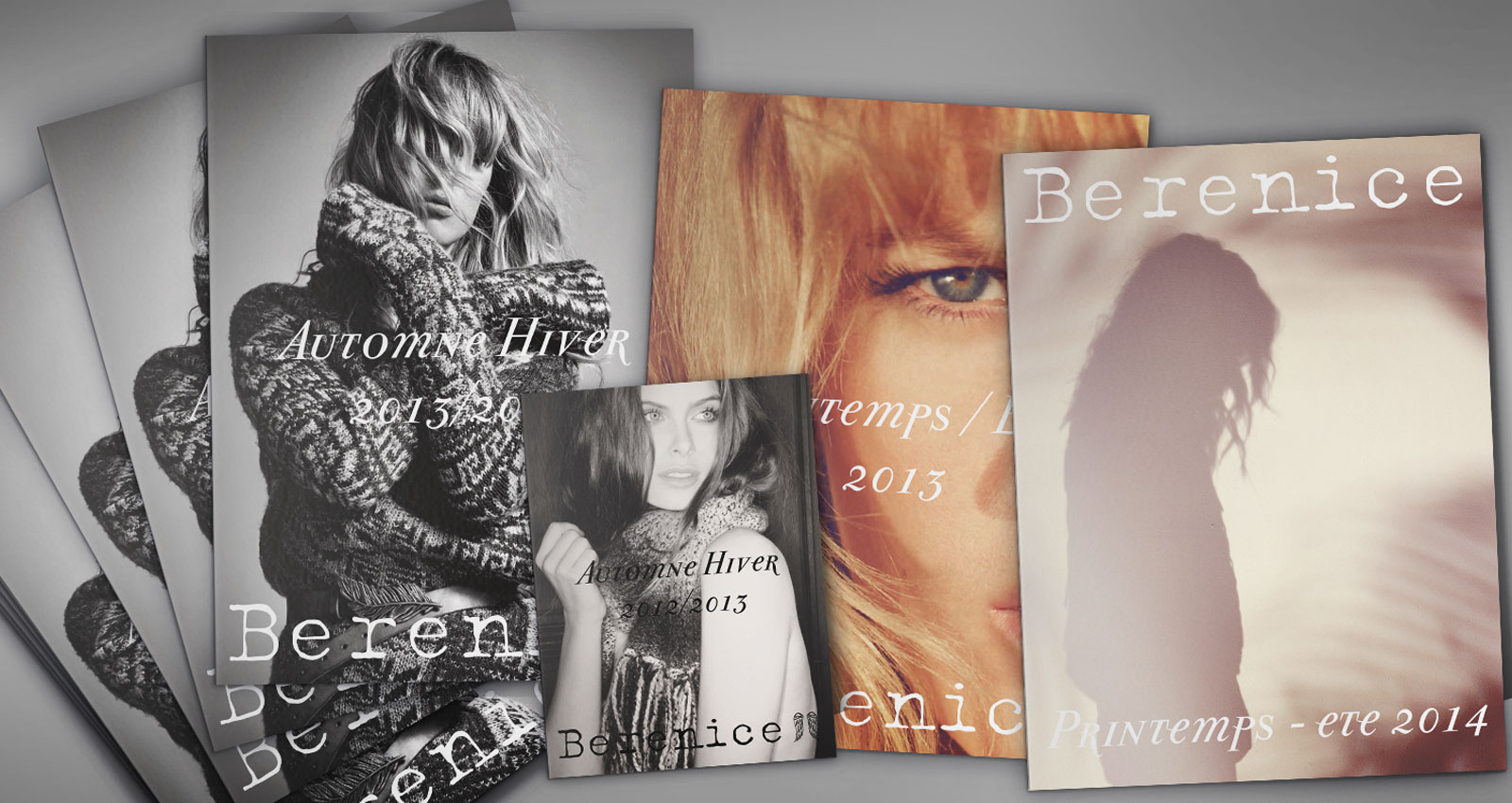 Catalogues for Bérénice fashion brand